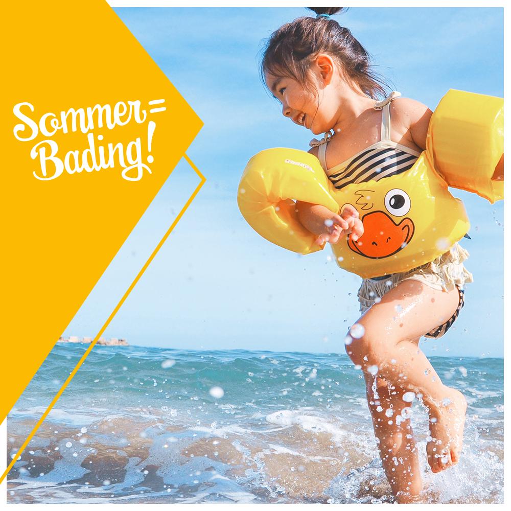 Sommer = Bading