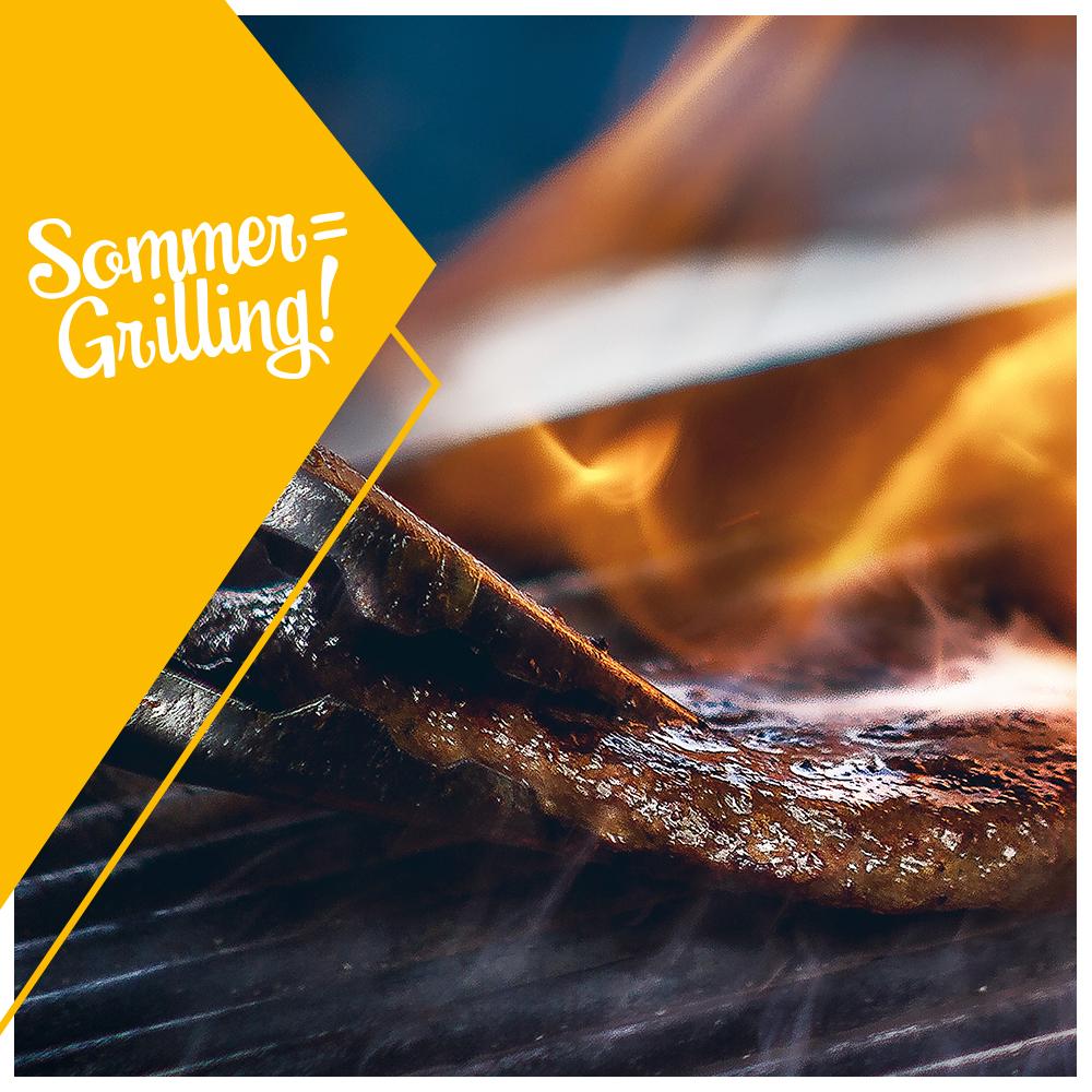 Sommer = Grilling