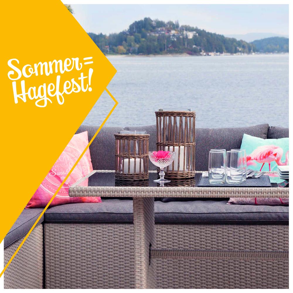 Sommer = Hagefest