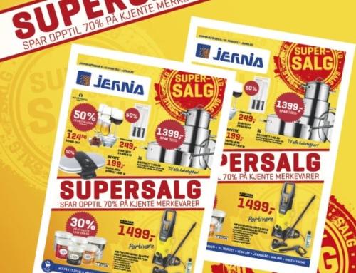 Supersalg hos Jernia