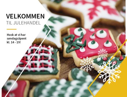 Julehandelen er i gang!