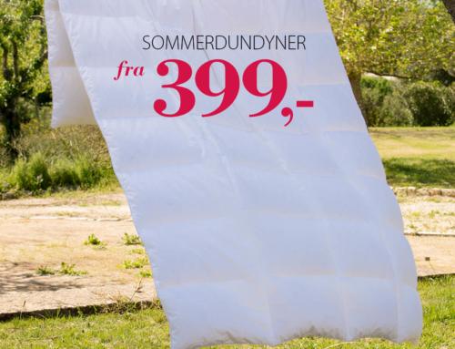 Sommerdyner på tilbud!