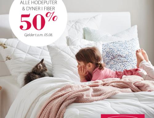 50% på fiber hos Princess