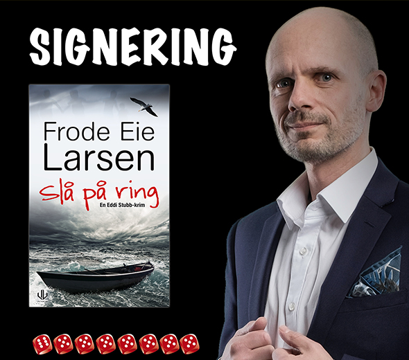 Boksignering med Frode eie Larsen