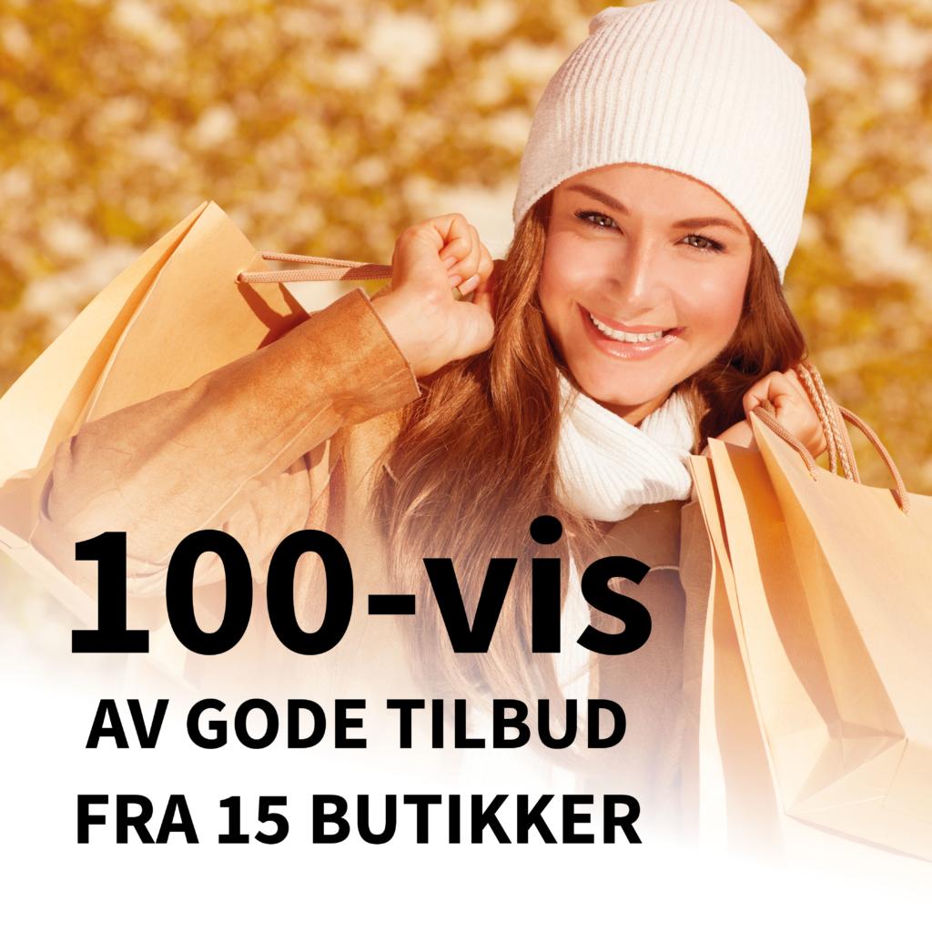 100-vis av tilbud på Strømsø!