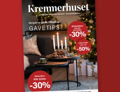 Julekatalog fra Kremmerhuset