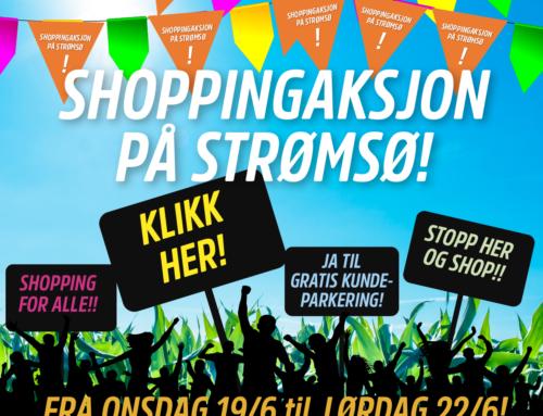 Shoppingaksjon på Strømsø!