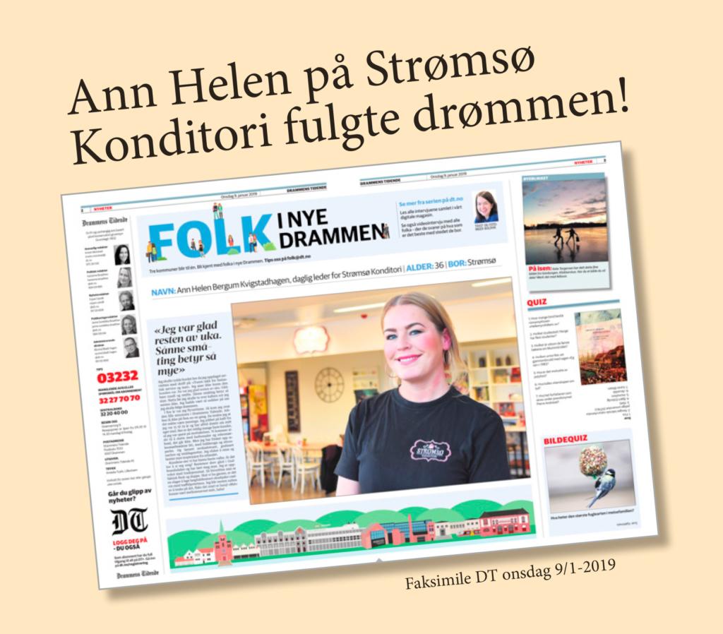 Velkommen til Strømsø Konditori!