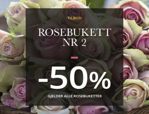 Rosekampanje hos Floriss